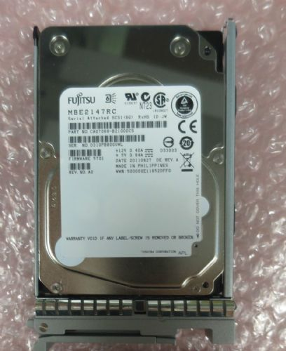 "Cisco A03-D146GC2 - 2.5"" 146GB 15K SAS Hard Drive HDD Hot-Plug Caddy UCS B200 M2"